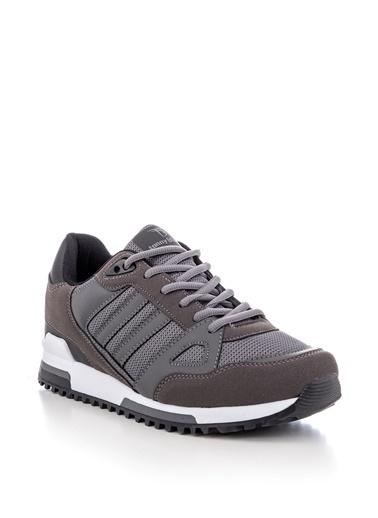 Tonny Black Füme Unısex Spor Ayakkabı Tb282  Füme